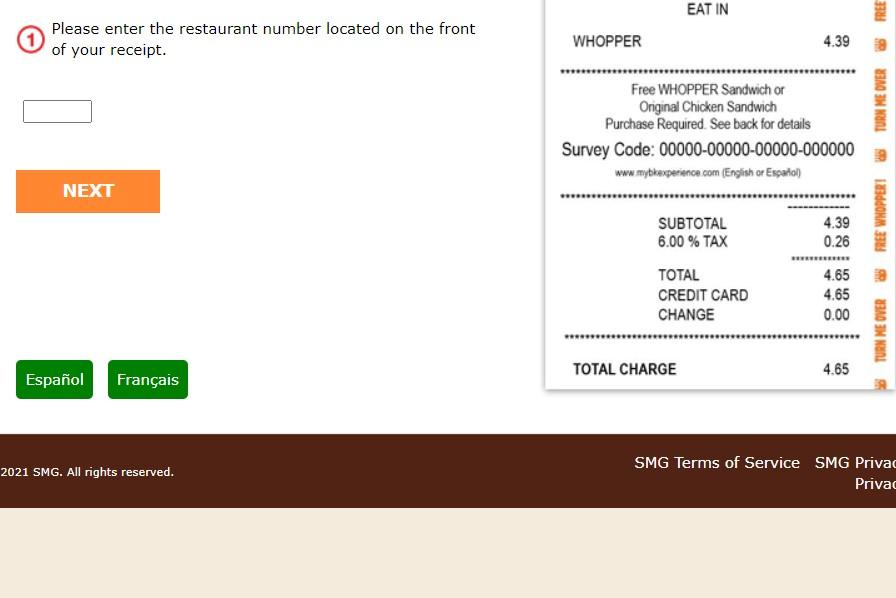 Guide to do Burger King Feedback Survey